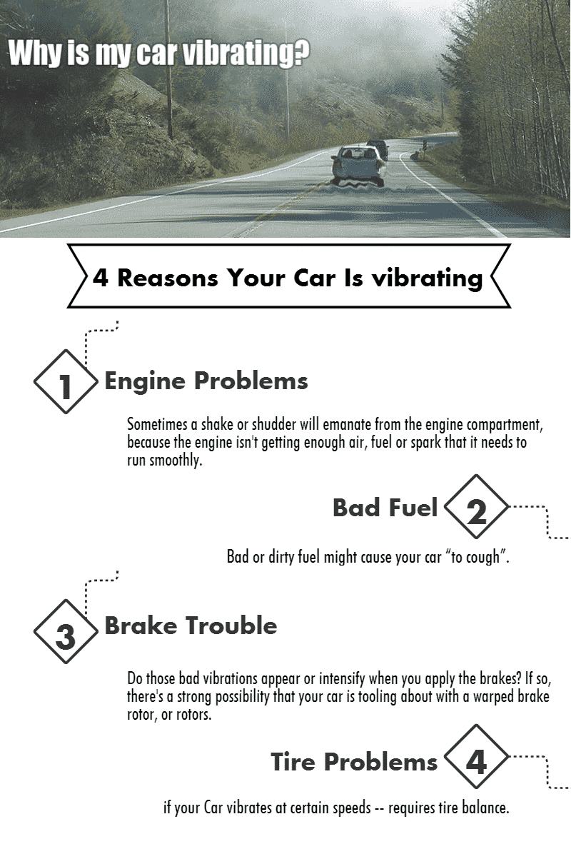 4 Reasons Your Car Is Vibrating